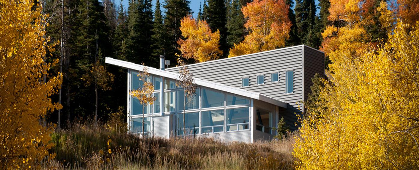 modern mountain cabin hmh architecture interiors modern