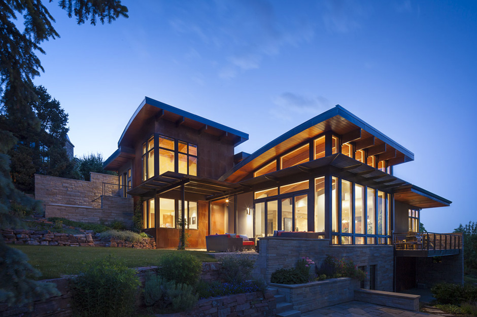 Colorado modern home hmh architecture interiors Modern house company