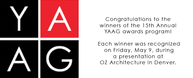 Young Architects Awards Gala