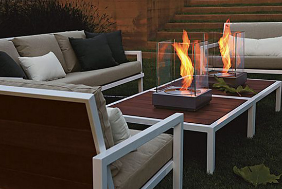 Mini T Fireplaces & Montego Collection - Our Picks For Outdoor Furniture - HMH Architecture + Interiors