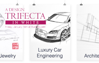 Design Trifecta in White