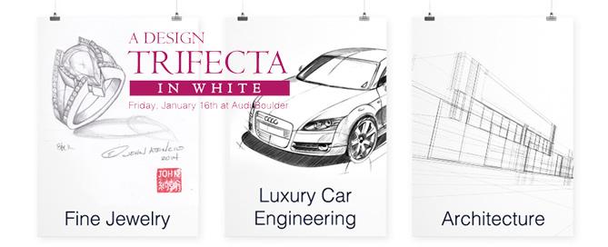 Design Trifecta in White