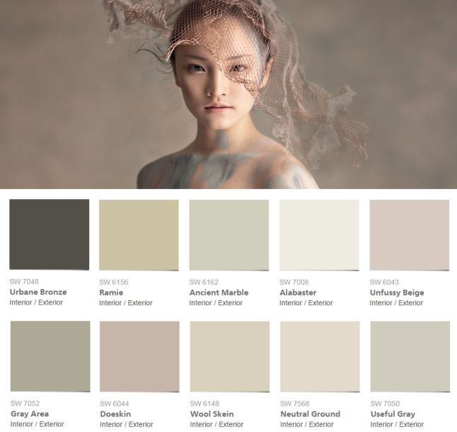 Sherwin Williams Colormix 2016