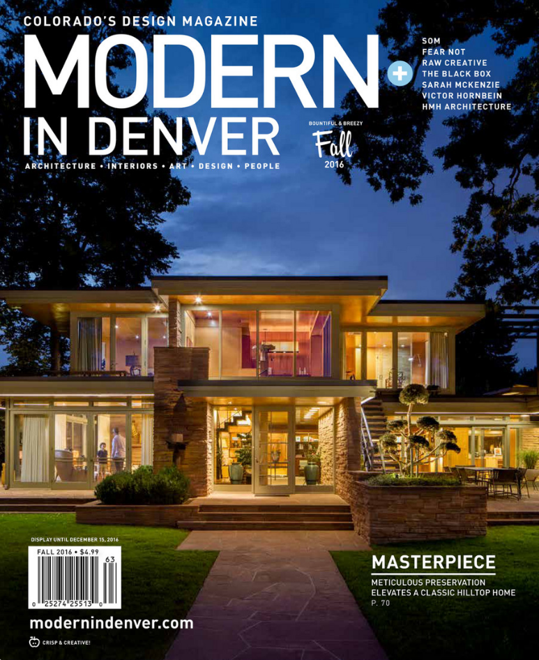 Modern in Denver Magazine