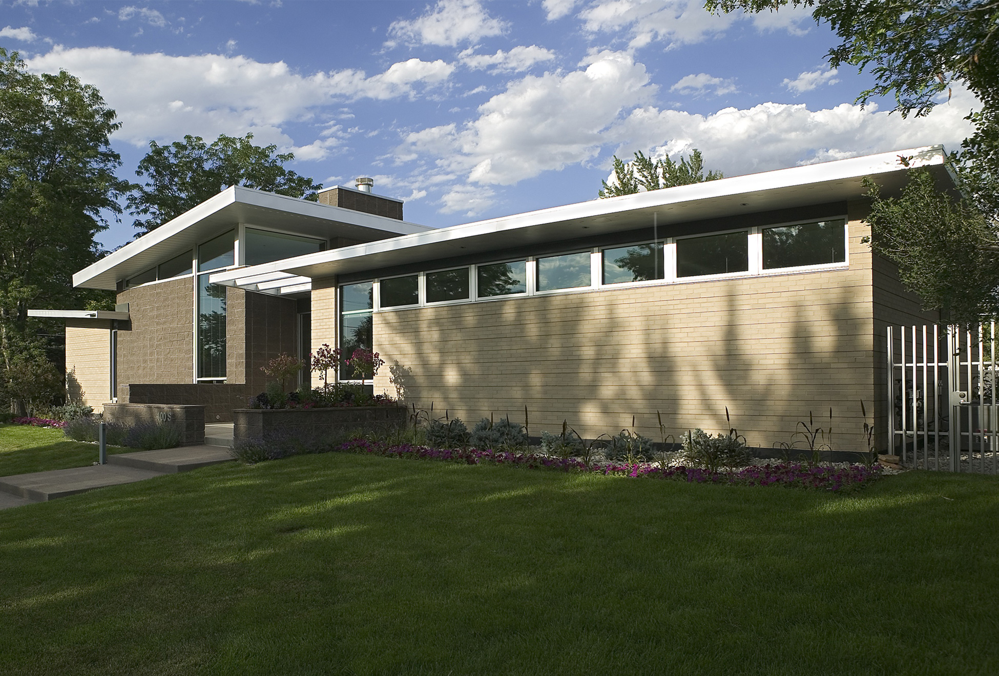 mid century modern home - hmh architecture + interiors - boulder, co