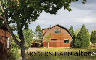 modern barn alter ego