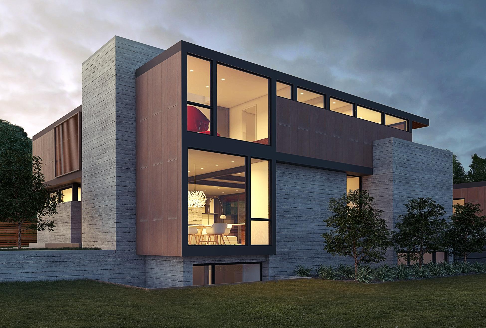 Hilltop Modern Home